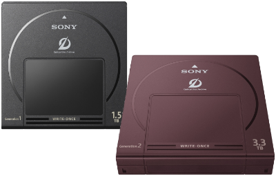 Sony Optical Disc Archive Cartridges